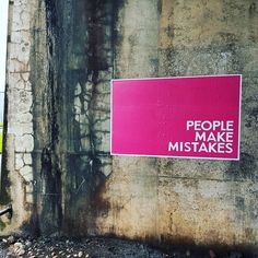 #PeopleMakeMistakes #Glasgow #LandscapePosters #Concept #Conceptual #Conceptualideas #Experiential #Subliminal #Interactive #Flyposting  People Make Mistakes, Making Mistakes, Experiential, Glasgow, Concept, Big, How To Make, Make Mistakes