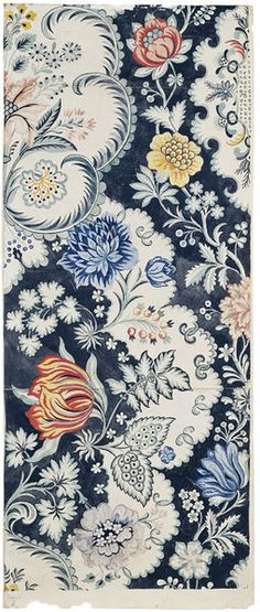 Silk design by Anna Maria Garthwaite, ca. 1733, Spitalfields, London.