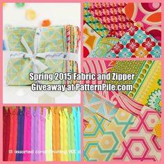 Spring Fabric and Zipper Giveaway - Joel Dewberry & YKK!