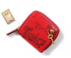 cheap - Cheap Juicy Couture Coin Purses - Red - Wholesale Discount Price    Tag: Discount Authentic Juicy Couture Wallets Hot Sales, Cheap Juicy Couture Wallets New Arrivals, Original Juicy Couture Wallets outlet, Wholesale Juicy Couture Wallets store