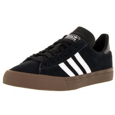 Adidas Men's Campus Vulc Ii /White/Gums Skate Shoe