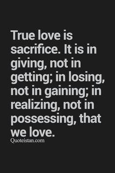Sacrificing Love Quotes : sacrificing, quotes, Sacrifice, Quotes,