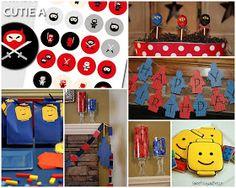 ninjago lego party ideas