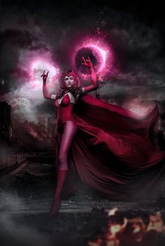 #Scarlet #Witch #Fan #Art #Cosplay. (Wanda Maximoff) By: MaltexBaby. ÅWESOMENESS!!!™ ÅÅÅ+