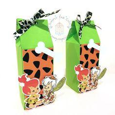 Personalized Favor Box (Qty 10) - Bam Bam | Peebles Flinstones for birthday, wedding, baby shower