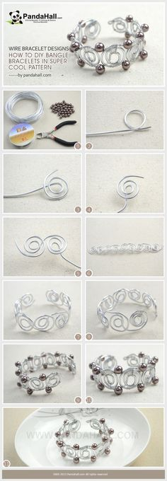 Jewelry Making Tutorial / Feeding your obsession with wire wrap things, you can never ignore the wire bracelet designs today. It is all about details for how to diy bangle bracelets out of wire easily. If you did, you may get a lot of unprecedented satisfaction.