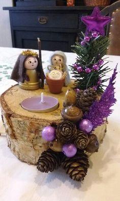 Vánoční dekorace svícen. (A+A)