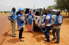 As this picture from our colleagues in Sudan shows, humanitarians often work in difficult and dangerous environments. Share this picture and show your support for aid workers around the world!   (Photo: OCHA / Matija Kovac)