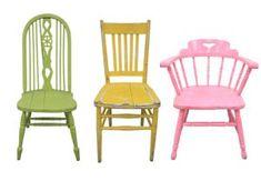Mixed Colored Farm Chair