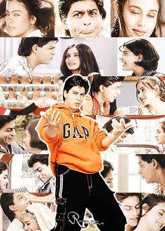 #SRK Kuch kuch hota hai Shahrukh Khan And Kajol, Shah Rukh Khan Movies, My Name Is Khan, Best Bollywood Movies, Kuch Kuch Hota Hai, Sr K, Aishwarya Rai Bachchan, Paul Walker, Film Industry