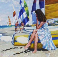Before Sailing by Howard Behrens