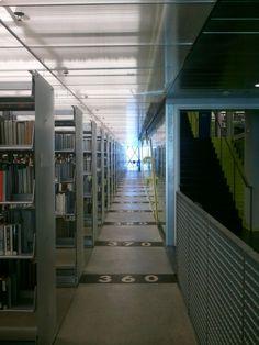 Seattle Public Library- Rem Koolhaas (Dewey  Decimal System) Seattle Library, Dewey Decimal System, Rem Koolhaas, Downtown Seattle, Buildings, Public, Stairs, Vacation, Adventure