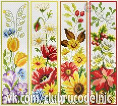 ru / Photo # 1 - b - Cross Stitch Books, Cross Stitch Bookmarks, Cross Stitch Art, Cross Stitch Flowers, Cross Stitch Designs, Cross Stitching, Cross Stitch Embroidery, Cross Stitch Patterns, Cross Stitch Pictures