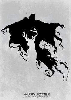 nathanielemmett:  Harry Potter and the Prisoner of Azkaban minimalist poster