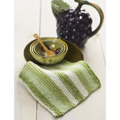 Lily Sugar 'n Cream Basic Dishcloth