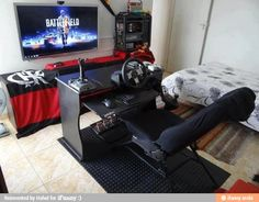 Perfect gaming setup, Get your Gunnar gaming glasses from www.sunglassesuk.com and play for longer.  Image http://ifunny.mobi/f/HTS4Txsx