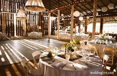 Another venue idea...the refurbished barn at Chaumette Winery in Ste. Gen