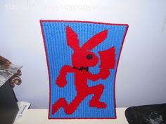 Loom Knitting, Knitting Patterns, Crochet Patterns, Insane Clown Posse, Playboy Bunny, Plastic Canvas Patterns, Cross Stitch, Birthday, Artist