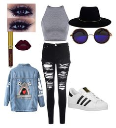 """""""Untitled #20"""" by queenrileyy on Polyvore featuring Glamorous, Chicnova Fashion, adidas Originals and Zimmermann"""