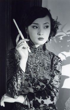 Classical Oriental beauty