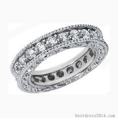This one is perfect! I don't really like diamonds on pedestals. (Hint hint future husband)