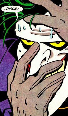 The Joker in Adventures (Dec. Im Batman, Batman Art, Spiderman, Gotham Batman, Batman Robin, Joker Comic, Joker Art, Gotham City, Comic Books Art