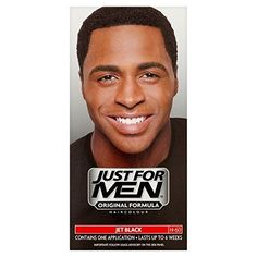 Just For Men's Black Hair Care Products an Original Formula in Jet Black H60 style