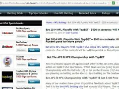 TopBET 2014 NFL Playoff Free Bet Offer Nfl Betting, Nfl Playoffs, Free
