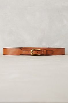 Tapered Leather Belt #anthrofav #greigedesign