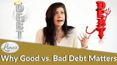 Not all debt is created equal, which is why I explain the difference between good debt and bad debt in this video. The goal is to have good debt that generat. Debt, Videos, Video Clip