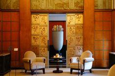 クリックすると新しいウィンドウで開きます Deco Interiors, Midcentury Modern, Art Deco, Mid Century, Rooms, Bedrooms, Retro, Art Decor