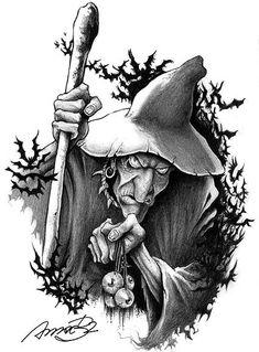 wizard by andrebdois on deviantART