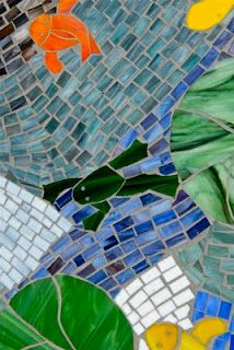 48 Best Home Tile Decorative Images On Pinterest Mosaic Glass - Delightful-art-on-tiles-by-okhyo
