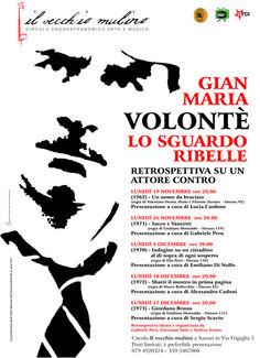 #Sassari, retrospettiva su Gian Maria #Volonté