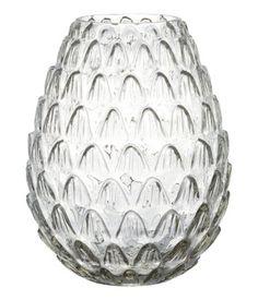 Grote glazen vaas   Transparant   Home   H&M NL