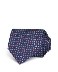 Salvatore Ferragamo Gancini, Diamonds and Dots Classic Tie
