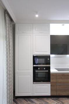 Kitchen. La cousine. Кухня. Designer Darya Belaya. Конвейерный ремонт.