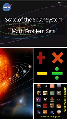 307 best nasa for educators images on pinterest in 2018 scale of the solar system pdf grades 6 12 students use proportions unit multipliers scientific notation and geometry to determine travel times to the fandeluxe Choice Image