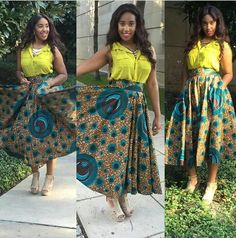 Stunning ankara skirt ~Latest African Fashion, African women dresses, African Prints, African clothing jackets, skirts, short dresses, African men's fashion, children's fashion, African bags, African shoes ~DK