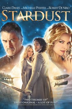 Stardust Movie Poster - Charlie Cox, Claire Danes, Robert De Niro  #Stardust, #MoviePoster, #MatthewVaughn, #FiFantasy, #CharlieCox, #ClaireDanes, #RobertDeNiro
