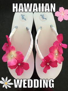002406994f84 Bridal Flip Flop Wedges.Wedding Flip Flops. Pink Bridal Shoes.Beach Wedding  Shoes.Pink Flip Flops.Rhinestone Flip Flops.Flower Flip flops