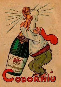 Vintage Codorniú poster