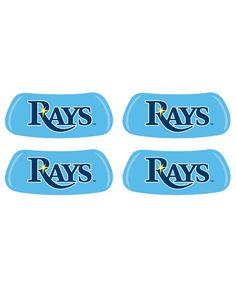 EyeBlack Tampa Bay Rays 2-Pair Eye Black Stickers