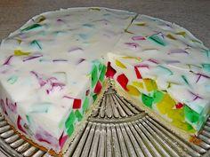 Bunte Götterspeise - Torte, ein leckeres Rezept aus der Kategorie Torten. Bewertungen: 14. Durchschnitt: Ø 3,9.