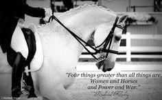 dressage horse - Kipling quote