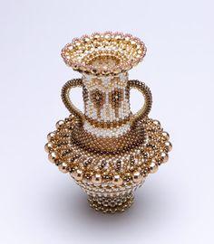 Верхняя фотография декоративной вазы Big Bronz