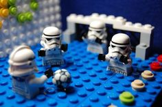 Lego Star Wars - Stormtroopers - The Olympic Water Soccer Troopers
