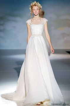 victorio y lucchino bridal 2014 bridal kobe cap sleeve wedding dress