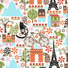 I love this print. It would be perfect for my little girl's room.