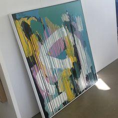 Original painting available at A1 Frames & Bizarre Framing Gallery. Exclusive works by 'Love, Maker's Studio' Art studio Brisbane. www.lovemakersstudio.com.au www.a1frames.com.au